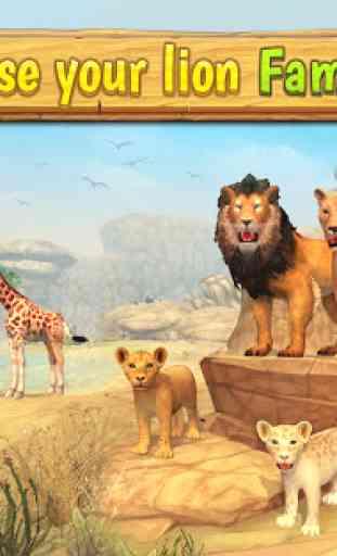 Lion Family Sim Online - Animal Simulator 1