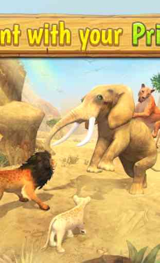 Lion Family Sim Online - Animal Simulator 2