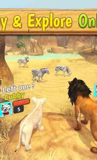 Lion Family Sim Online - Animal Simulator 3