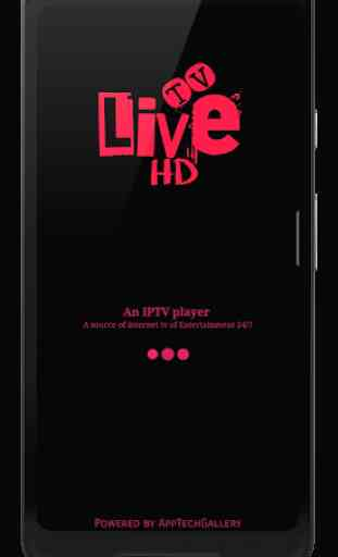 Live TV HD - IPTV player for Entertainment 24/7 1
