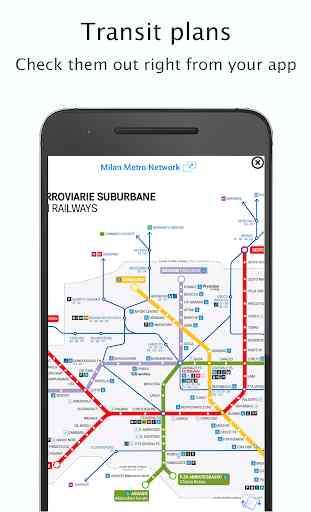 Milan Public Transport: Offline/live time & maps 2