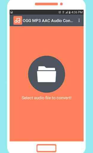 OGG MP3 AAC Audio Converter 1