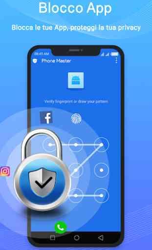 Phone Master-Blocco App,Gestore Dati,Booster 1