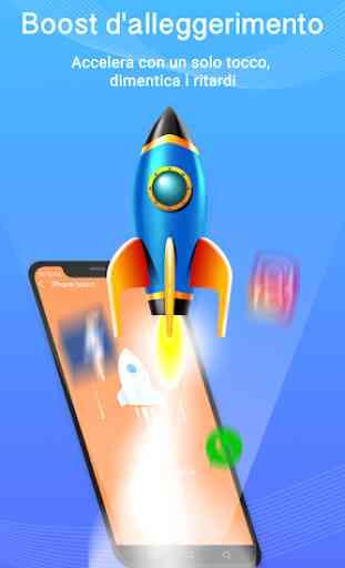 Phone Master-Blocco App,Gestore Dati,Booster 2