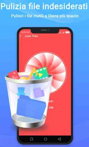 Phone Master-Blocco App,Gestore Dati,Booster 4