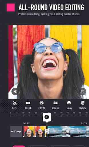 PixArt Video Editor: Video, Audio & Pics Art Maker 1
