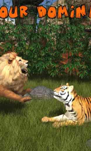 Ultimate Lion Vs Tiger: Wild Jungle Adventure 1
