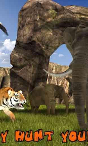 Ultimate Lion Vs Tiger: Wild Jungle Adventure 2