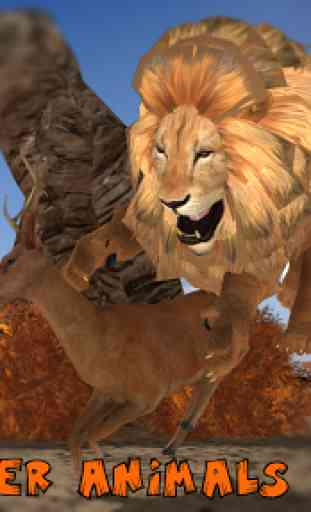Ultimate Lion Vs Tiger: Wild Jungle Adventure 3