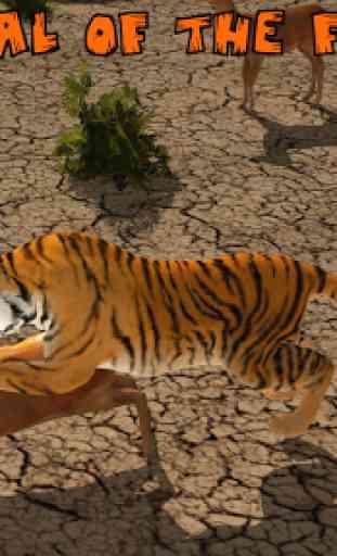 Ultimate Lion Vs Tiger: Wild Jungle Adventure 4