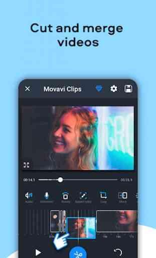 Video Editor Movavi Clips 3