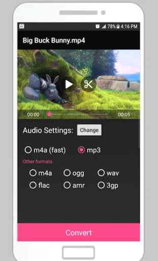 Video To Mp3 Audio Converter - Sound Extract 3