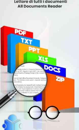 visualizzatore di documenti e documenti 1