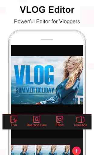 Vlog Star per yt - editor video gratuito 2