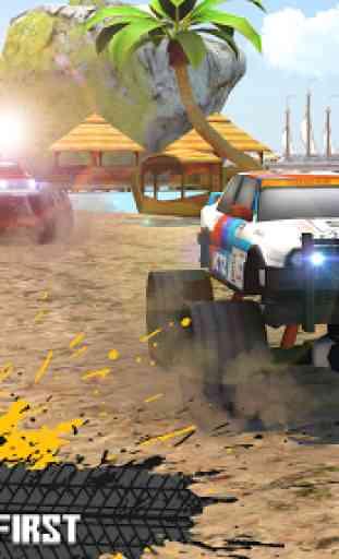 Beach Kart Racing 3D 2