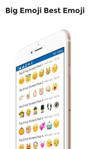 Big Emoji Stickers For Whatsapp 2