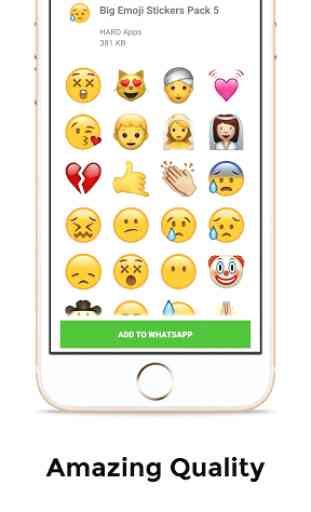 Big Emoji Stickers For Whatsapp 4