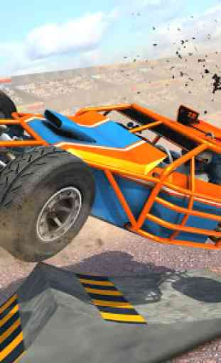 Dune Buggy Car Crash Stunts : Demolition Derby 1