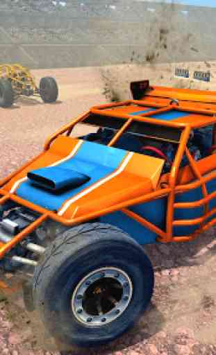 Dune Buggy Car Crash Stunts : Demolition Derby 3