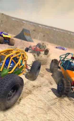 Dune Buggy Car Crash Stunts : Demolition Derby 4