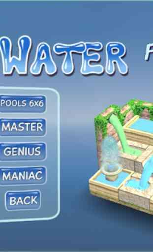 Flow Water Fountain 3D Puzzle - Fontana Acqua 1