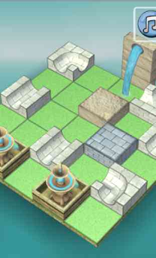 Flow Water Fountain 3D Puzzle - Fontana Acqua 2