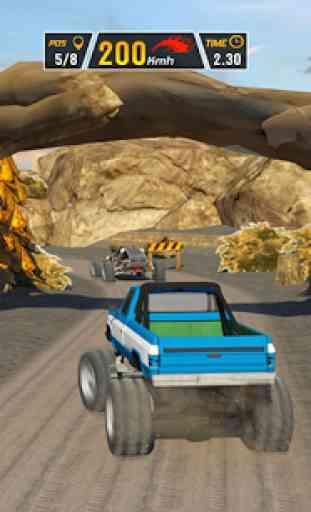 Fuori strada Duna Bagy Auto Da corsa 3D 4