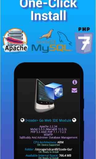 I<code> Web Server - Apache HTTP MySql PHP 7.3 1