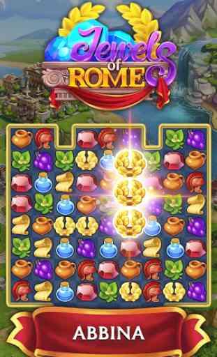 Jewels of Rome: Gioco con abbinamento di gemme 1