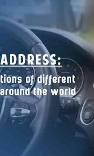 Mappe GPS, indicazioni stradali, navigazione 1