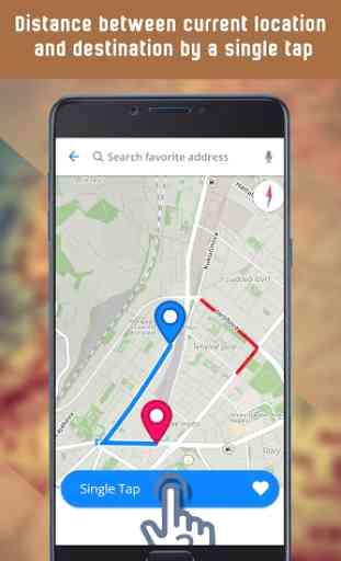 Mappe GPS, indicazioni stradali, navigazione 3