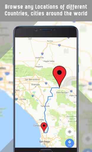 Mappe GPS, indicazioni stradali, navigazione 4