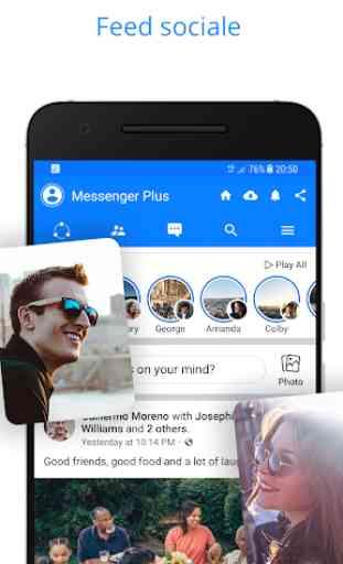 Messenger per messaggi, chat di testi e videochat 4