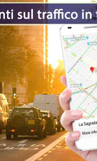 Navigazione del percorso delpercorsodellamappa GPS 1