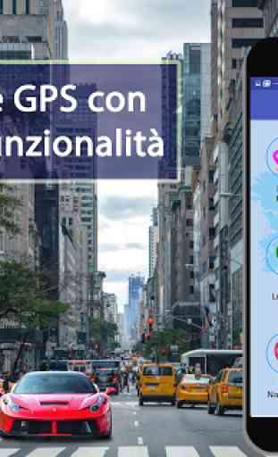 Navigazione del percorso delpercorsodellamappa GPS 2