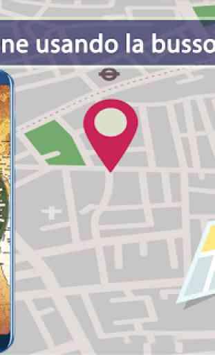 Navigazione del percorso delpercorsodellamappa GPS 4