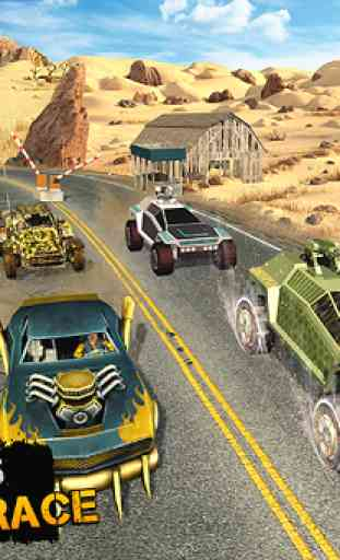 Offroad Dirt Race: Buggy Car Racing 4