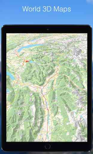 Relief Maps - 3D GPS for Hiking & Trail Running 4