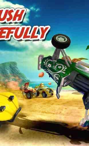 spiaggia Kart Rider corsa brav 1