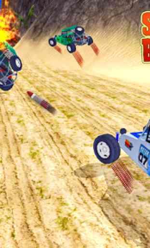 spiaggia Kart Rider corsa brav 2