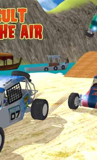 spiaggia Kart Rider corsa brav 4