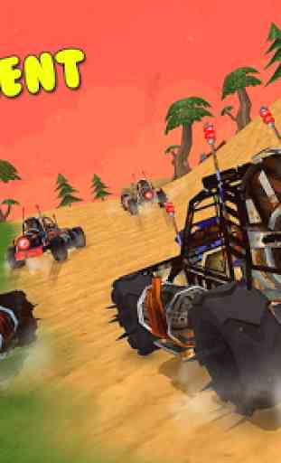 Superheroes Beach Buggy Xtreme Racing 2