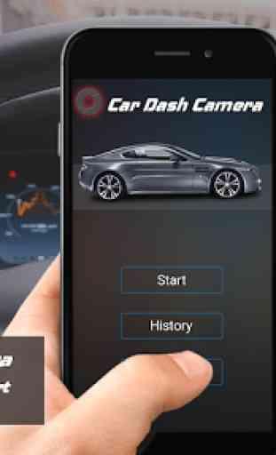 Tachimetro GPS Dash Cam e registratore per auto 1