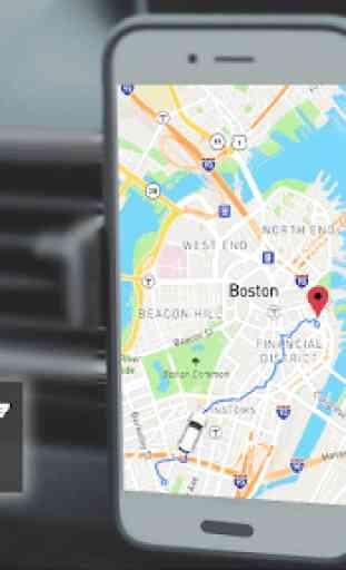 Tachimetro GPS Dash Cam e registratore per auto 2