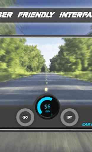 Tachimetro GPS Dash Cam e registratore per auto 3