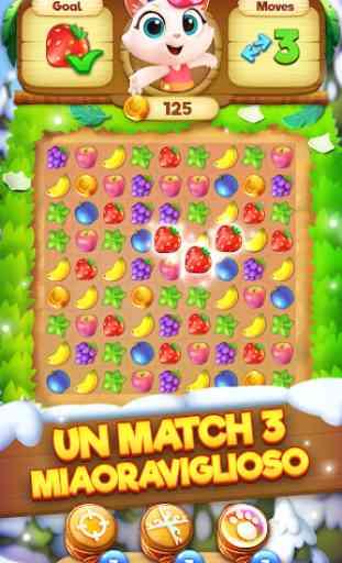 Tropicats: Giochi di abbinamento a tre   Puzzles 2