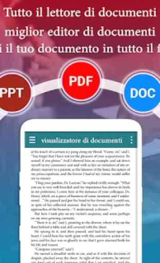 tutto il lettore di documenti: pdf, ppt, doc, odf 3