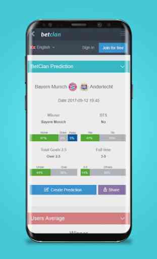 BetClan - App di Predizioni Sportive 3