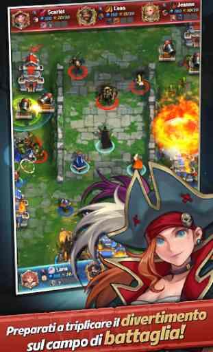 Castle Burn - Rivoluzione RTS 2