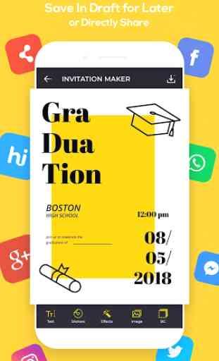 Invitation Maker, Greeting Card Maker image 4